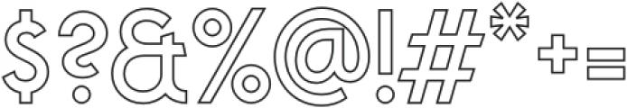 VVDS_Praliner Medium Stroke otf (500) Font OTHER CHARS