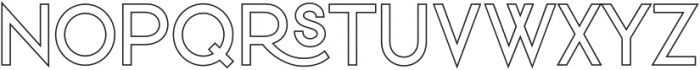 VVDS_Praliner Medium Stroke otf (500) Font UPPERCASE