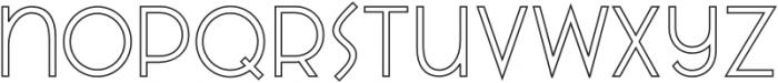 VVDS_Praliner Regular Stroke otf (400) Font LOWERCASE