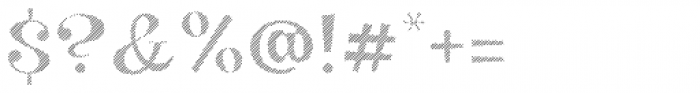 VVDS Big Tickle Hatched Black Font OTHER CHARS