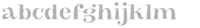 VVDS Big Tickle Hatched Black Font LOWERCASE