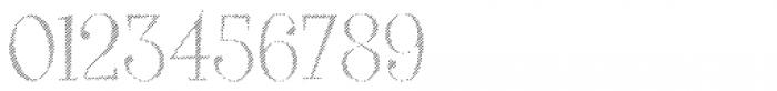 VVDS Big Tickle Hatched Light Font OTHER CHARS