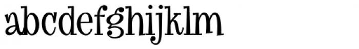 VVDS Big Tickle Light Font LOWERCASE