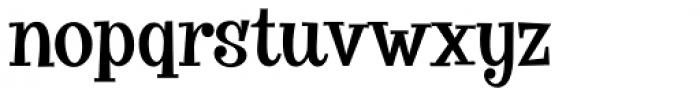 VVDS Big Tickle Normal Font LOWERCASE