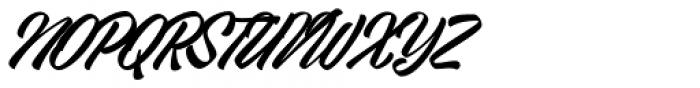 VVDS Big Tickle Script Font UPPERCASE