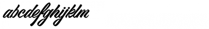 VVDS Big Tickle Script Font LOWERCASE