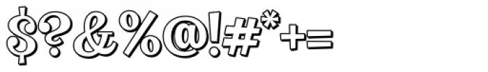 VVDS Big Tickle Shadow Medium Font OTHER CHARS