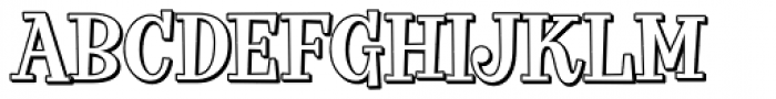 VVDS Big Tickle Shadow Norm Font UPPERCASE