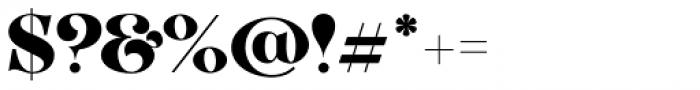 VVDS Organum Black Font OTHER CHARS