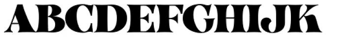 VVDS Organum Black Font UPPERCASE