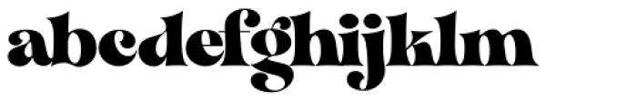 VVDS Organum Black Font LOWERCASE