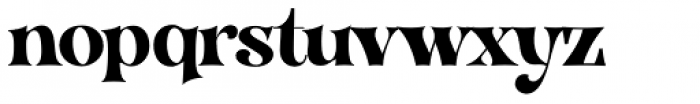 VVDS Organum Bold Font LOWERCASE