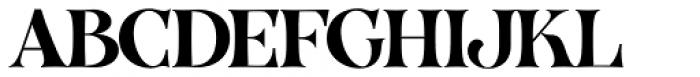 VVDS Organum Medium Font UPPERCASE