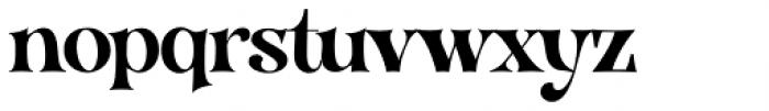 VVDS Organum Medium Font LOWERCASE