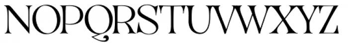 VVDS Organum Thin Font UPPERCASE
