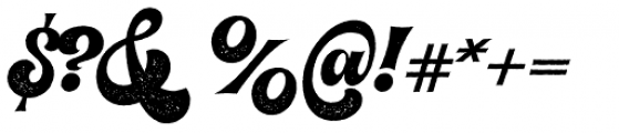 VVDS Pacifica Pressed Font OTHER CHARS