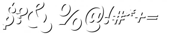 VVDS Pacifica Shadow Font OTHER CHARS
