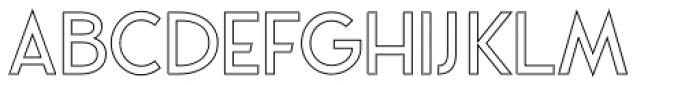 VVDS Praliner Medium Stroke Font UPPERCASE