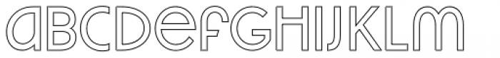 VVDS Praliner Medium Stroke Font LOWERCASE