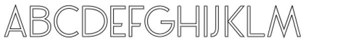 VVDS Praliner Regular Stroke Font UPPERCASE