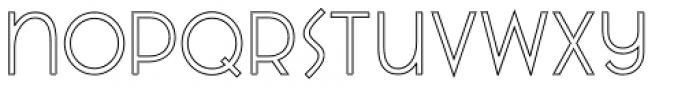 VVDS Praliner Regular Stroke Font LOWERCASE