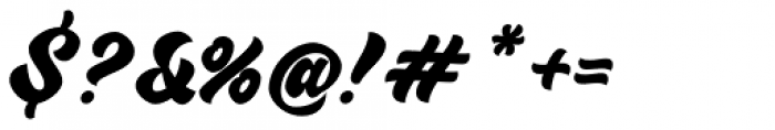 VVDS Sunshine Bridge Script Font OTHER CHARS