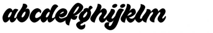 VVDS Sunshine Bridge Script Font LOWERCASE