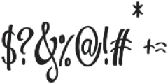 Vytorla otf (400) Font OTHER CHARS