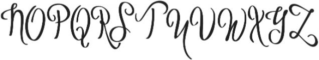 Vytorla otf (400) Font UPPERCASE