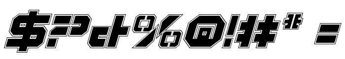 Vyper Pro Italic Font OTHER CHARS