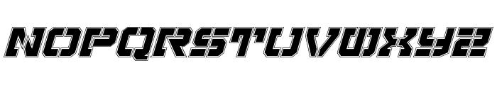 Vyper Pro Italic Font UPPERCASE
