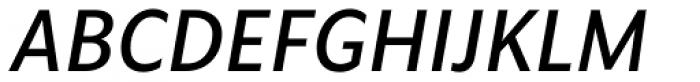 Vyoma Medium Italic Font UPPERCASE