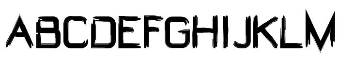 W@rdooM Font UPPERCASE