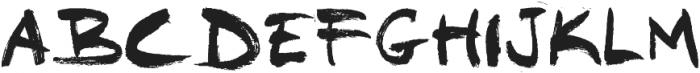 WALL ttf (400) Font UPPERCASE