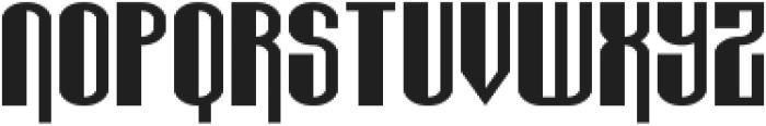 Wabbit Sans ttf (400) Font UPPERCASE