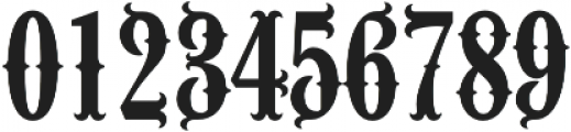 Wacamoler Caps Regular otf (400) Font OTHER CHARS