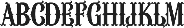 Wacamoler Reg Regular otf (400) Font UPPERCASE