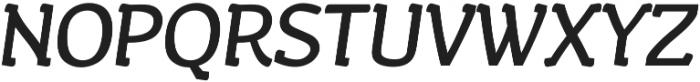 Wacca Bold Italic otf (700) Font UPPERCASE