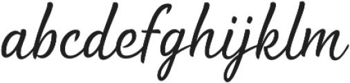 Waialua Light otf (300) Font LOWERCASE