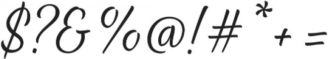 Waialua Thin otf (100) Font OTHER CHARS