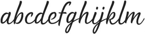 Waialua Thin otf (100) Font LOWERCASE