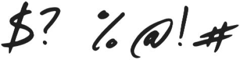 Walden Regular otf (400) Font OTHER CHARS