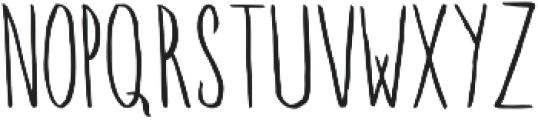 Walden ttf (400) Font UPPERCASE