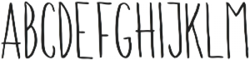 Walden ttf (400) Font LOWERCASE