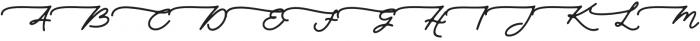 Walfords otf (400) Font UPPERCASE