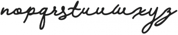 Walfords otf (400) Font LOWERCASE