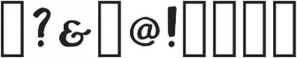 Walker Bold Regular otf (700) Font OTHER CHARS