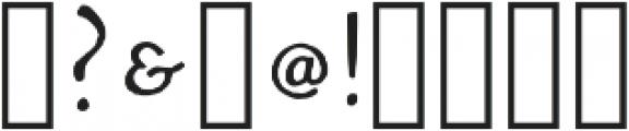 Walker Thin Regular otf (100) Font OTHER CHARS