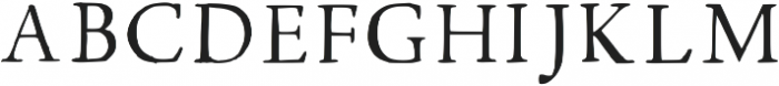 Walker Thin Regular otf (100) Font UPPERCASE