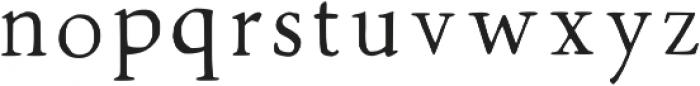 Walker Thin Regular otf (100) Font LOWERCASE